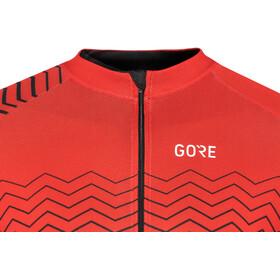 GORE WEAR C3 Jersey Herren red/black